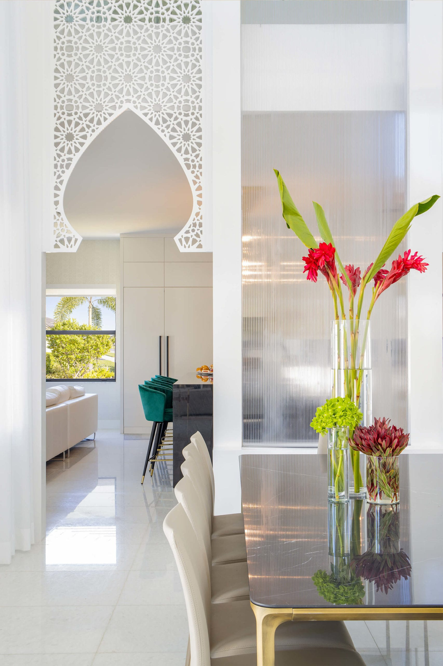 Arabic Residence by Interiors by Maite Granda.
