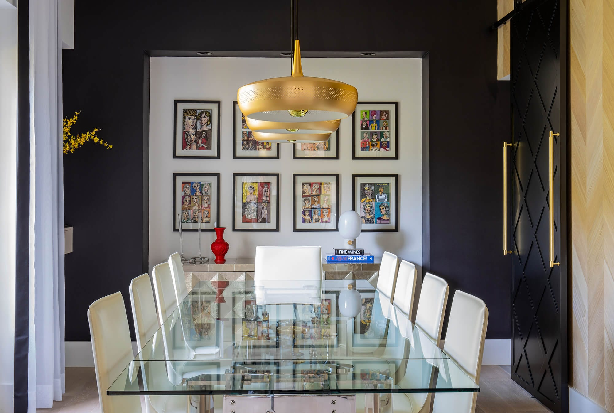 Interiors by Maite Granda - Coral Gables Eclectic - Dining