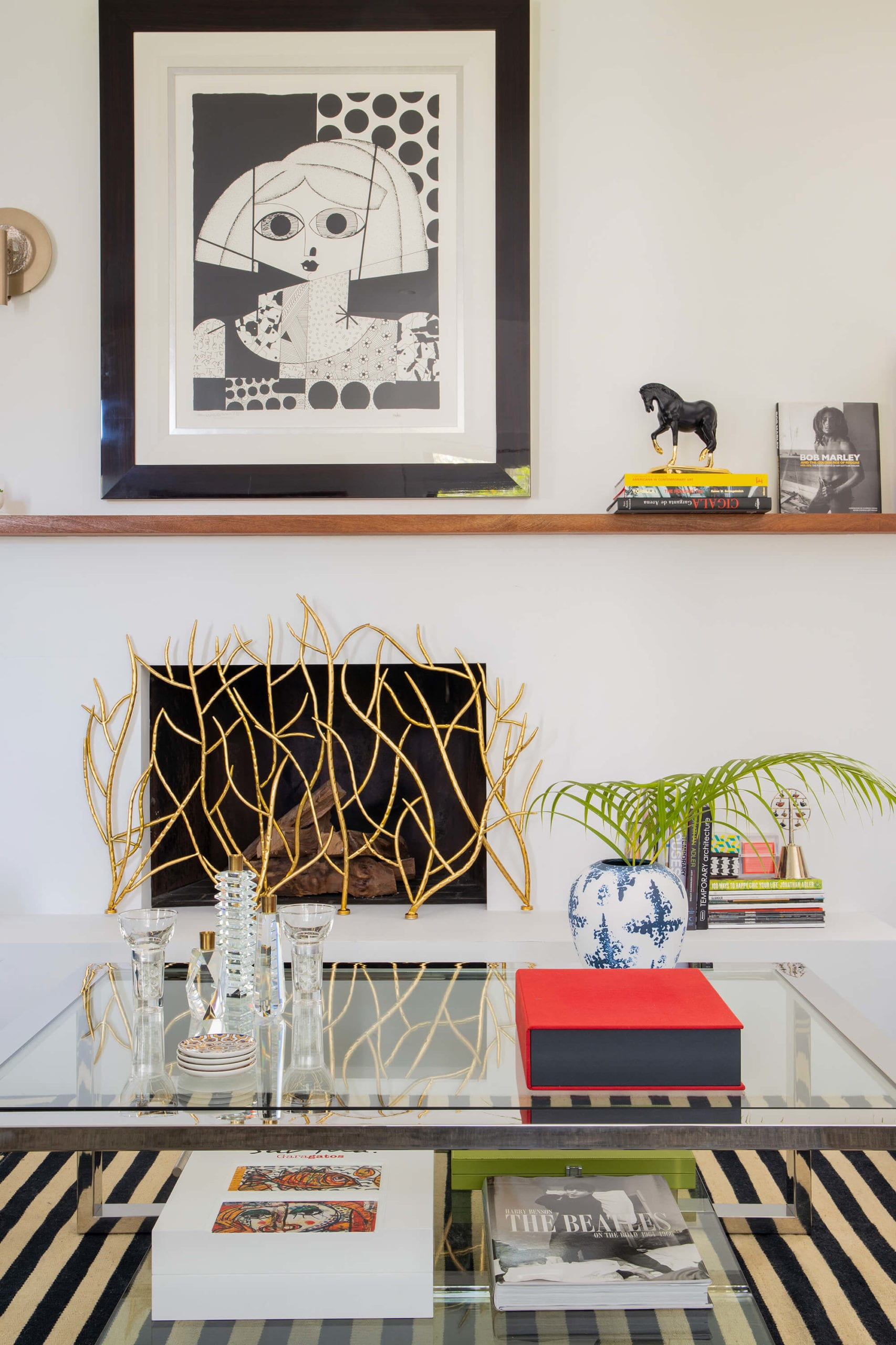 Interiors by Maite Granda - Coral Gables Eclectic - Living Room