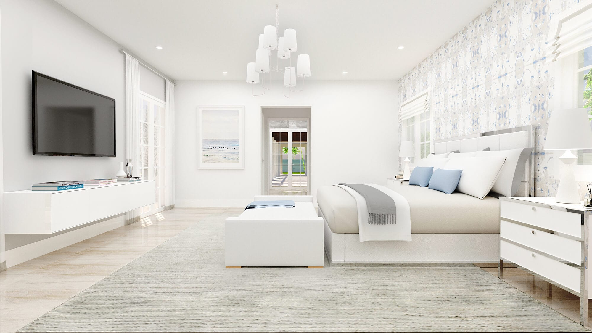 """Interiors by Maite Granda. """"Nominated among the top 15 interior design firms in Miami and New York."""