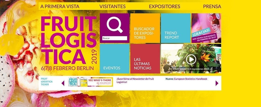 Fruit Logistica Berlin 2018