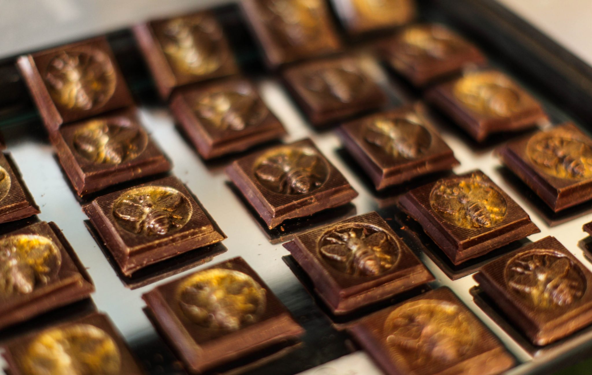 Forget sugarplums. One of our favorite chocolatiers, Chocolat by Adam Turoni, serves up delectable truffles from his beautiful storefronts in Savannah. The packaging is festive and the confections are works of art. Order here. If you order an extra box for yourself, your secret will be safe with us.