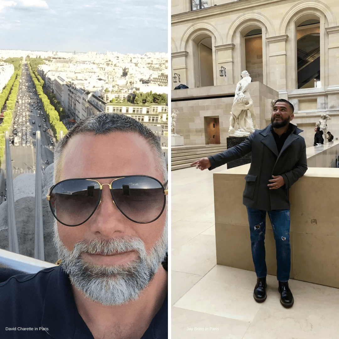David Charette and Jay Britto in Paris for Maison&Objet 2018