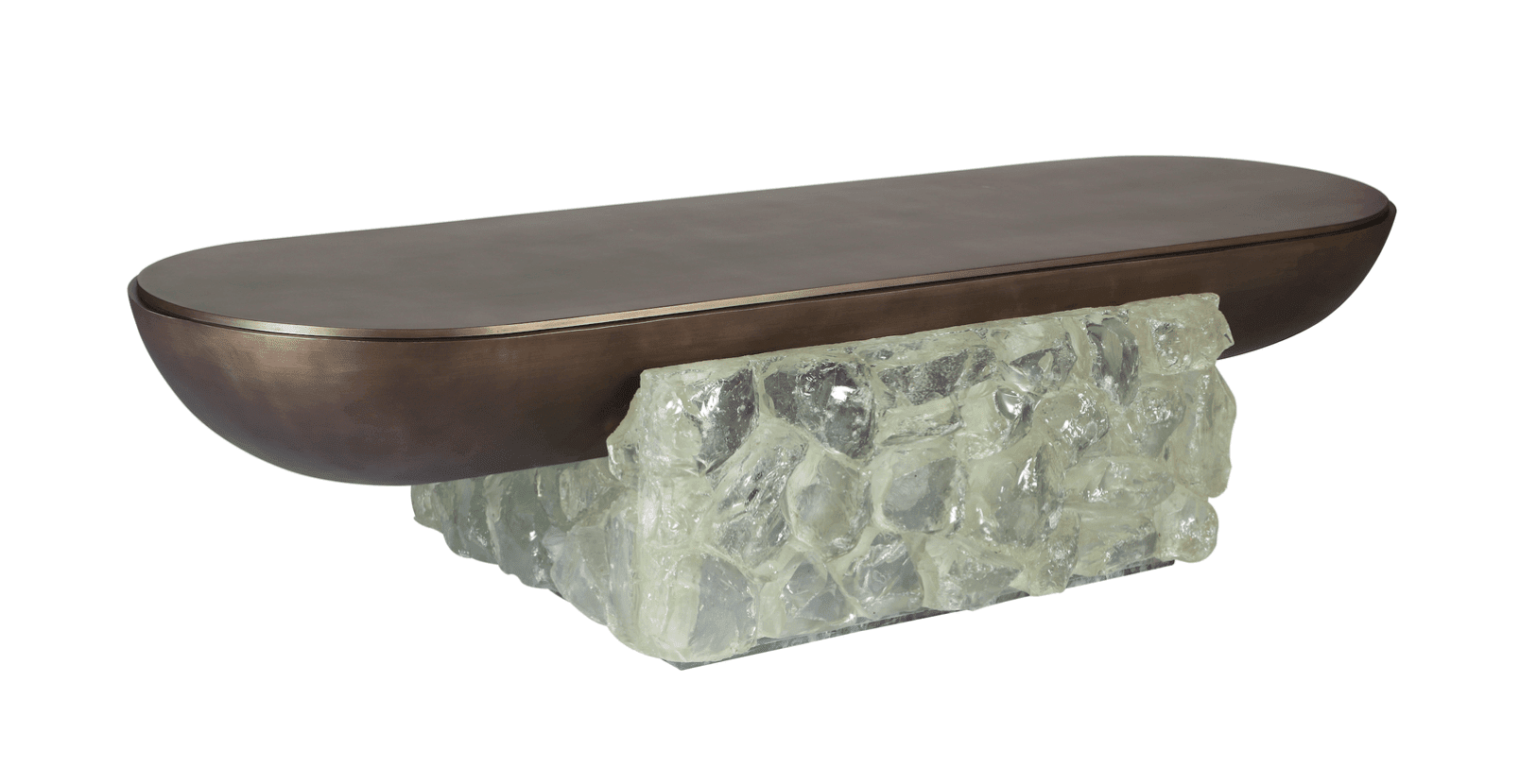 Crystal Rock Centre Table by FORMUS photo from Maison&Objet